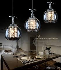 Wine Glass Pendant Light Modern Clear Wine Glass Pendant Light 20w G4 Bulbs