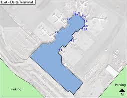 New York Lga Airport Map by Laguardia Airport Lga Maplets