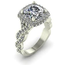cubic zirconia white gold engagement rings cubic zirconia engagement rings cz engagement rings cubic