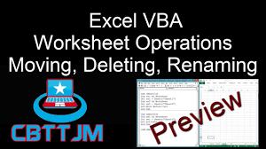 comprehensive vba part 10 excel vba worksheets copy move