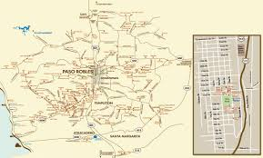 paso robles winery map paso robles bed breakfasts in the central coast wine region