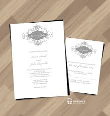printable wedding invitation kits 22 free printable wedding invitations