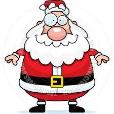 cartoon santa claus smiling by cory thoman toon vectors eps 315