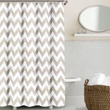 Chevron Style Curtains Chevron Shower Curtains For Your Bathroom Luxury Bathroom Design