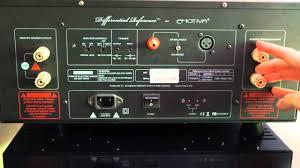 home theater power amplifier emotiva xpa 1 gen2 monoblock amplifier review youtube
