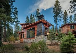 Cabin House by Cabin With Tigerwood Siding In Truckee Ca Built By Nsm
