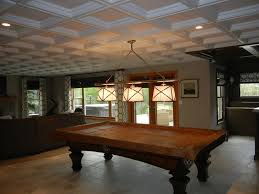basement family room drop ceiling ideas contemporary chicago with