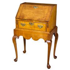 Maddox Tables Secretary Desk by Diminutive Maple Queen Anne Lady U0027s Child U0027s Desk On Frame Salem