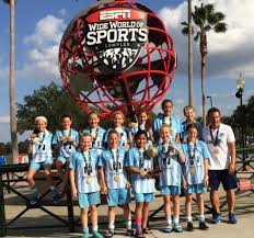 wilmington hammerheads youth team takes place at disney