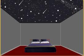plafond chambre étoilé plafond chambre etoile etoiles phosphorescentes plafond chambre