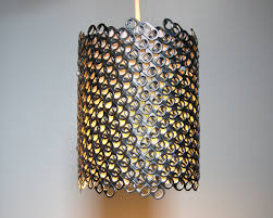 Diy Drum Pendant Light by Soda Can Tab Small Diagonal Pendant Light The 3 R U0027s Blog