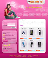 affordable online mobile store templates