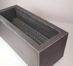 gas fire pit ring rectangular gas fire pit cor ten steel pits hidden tank wood