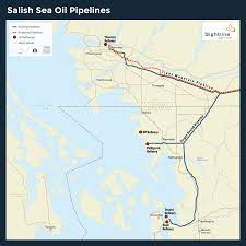 Alaska Pipeline Map by An Oil Pipeline Expansion In Washington Sightline Institute