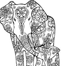 elephant halloween coloring pages u2013 festival collections
