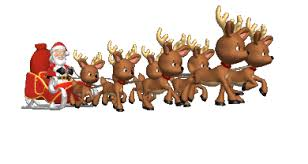 animated santa santa clause clip animations