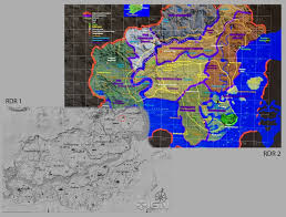Gang Map Los Angeles by Rdr Sequel Map Leaked Reddeadredemption