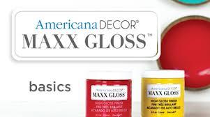 decoart maxx gloss finish