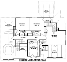house plan builder 8149 4 bedrooms and 3 baths the house designers