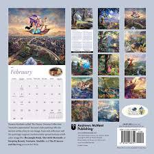 design wall calendar 2015 thomas kinkade the disney dreams collection 2016 wall calendar