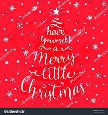 merry christmas whimsical stock illustration