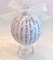 anniversary ornament wedding ideas 25th wedding anniversary ornaments ornament