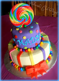 candyland birthday cake this would be for a candyland party made by my fav
