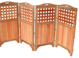 Room Dividers And Privacy Screens - vifah outdoor and indoor hardwood teak privacy screen