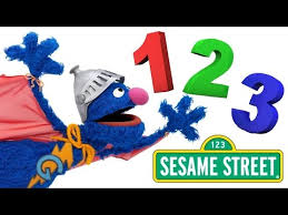 learn 123 numbers toddlers children super grover sesame