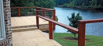 How To Build A Deck Handrail Deck Cable Railing Stainless Steel Railing System