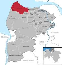 Map Of Germany With Cities And Towns In English by Cuxhaven Wikipedia