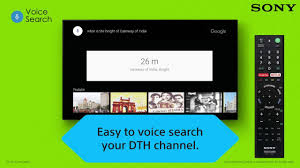 sony android tv remote sony android tv voice search