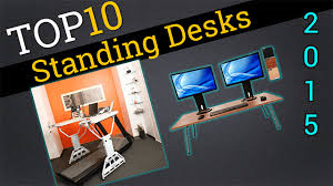 Computer Desk For Laptop Top Ten Standing Desks 2015 Best Laptop Carts And Stands