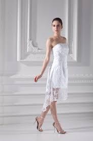 brautkleid gã nstig weiß brautkleider spitze kurz a linie etuikleid hochzeitskleider