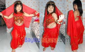 Baju Anak India kostum india merah jual aneka kostum anak