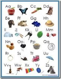 printable alphabet grid alphabet beginning sounds poster free printable