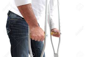 Walking Up Stairs With Crutches by Crutch Stock Photos U0026 Pictures Royalty Free Crutch Images And