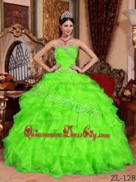 green quinceanera dresses green gown sweetheart floor length organza beading