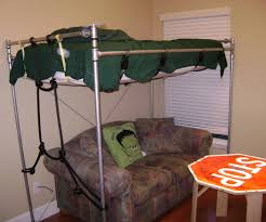 pipe loft bed galvanized steel