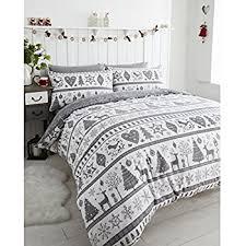 Double Christmas Duvet Noel Quilt Duvet Cover And 2 Pillowcase Bedding Bed Set Christmas