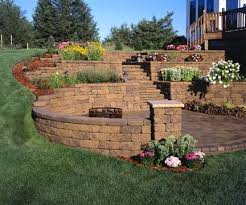 Backyard Pictures Ideas Landscape Best 25 Tiered Landscape Ideas On Pinterest Terraced Backyard