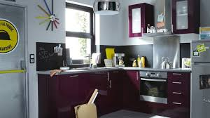 cuisine couleur aubergine meuble haut cuisine couleur aubergine
