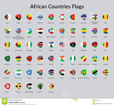 Flags Of African Countries African Countries Flag Stock Vector Image Of Design 48475717