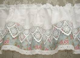 Shabby Chic Valance by 105 Best Cortinas Images On Pinterest Window Treatments Kitchen