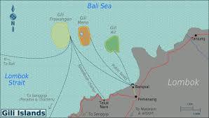 Bali Indonesia Map Gili Islands Wikipedia