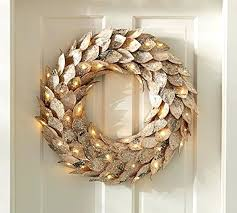battery operated wreath powered lights with timer garland outdoor