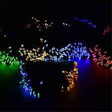 100 outdoor solar led string lights sale christmas gift solar led string lights for party festival