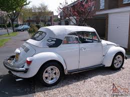 porsche beetle conversion vw beetle cabriolet triple white conversion