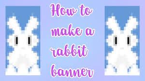 rabbit banner how to make a rabbit banner