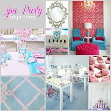 little girls spa party home party ideas spa parties